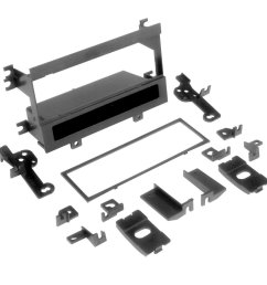 scosche single din black multi purpose stereo dash kit [ 1000 x 1000 Pixel ]