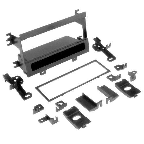 small resolution of scosche single din black multi purpose stereo dash kit