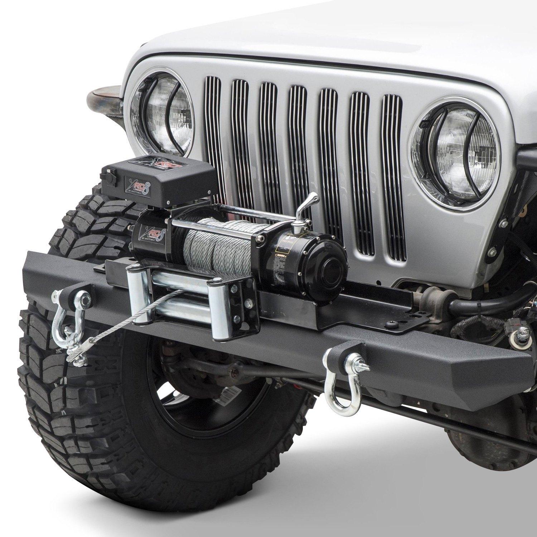 hight resolution of smittybilt src classic full width front hd textured black bumper