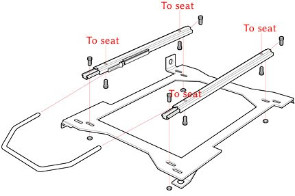 Sparco Seat Installation Instructions Flat Version
