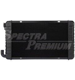 88 buick skylark by spectra premium 174 buick skylark 1988 engine coolant radiator [ 1000 x 1000 Pixel ]