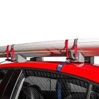 """SportRack SR5527 - 16""""-24"""" Adjustable Foam Kayak Carrier ..."""