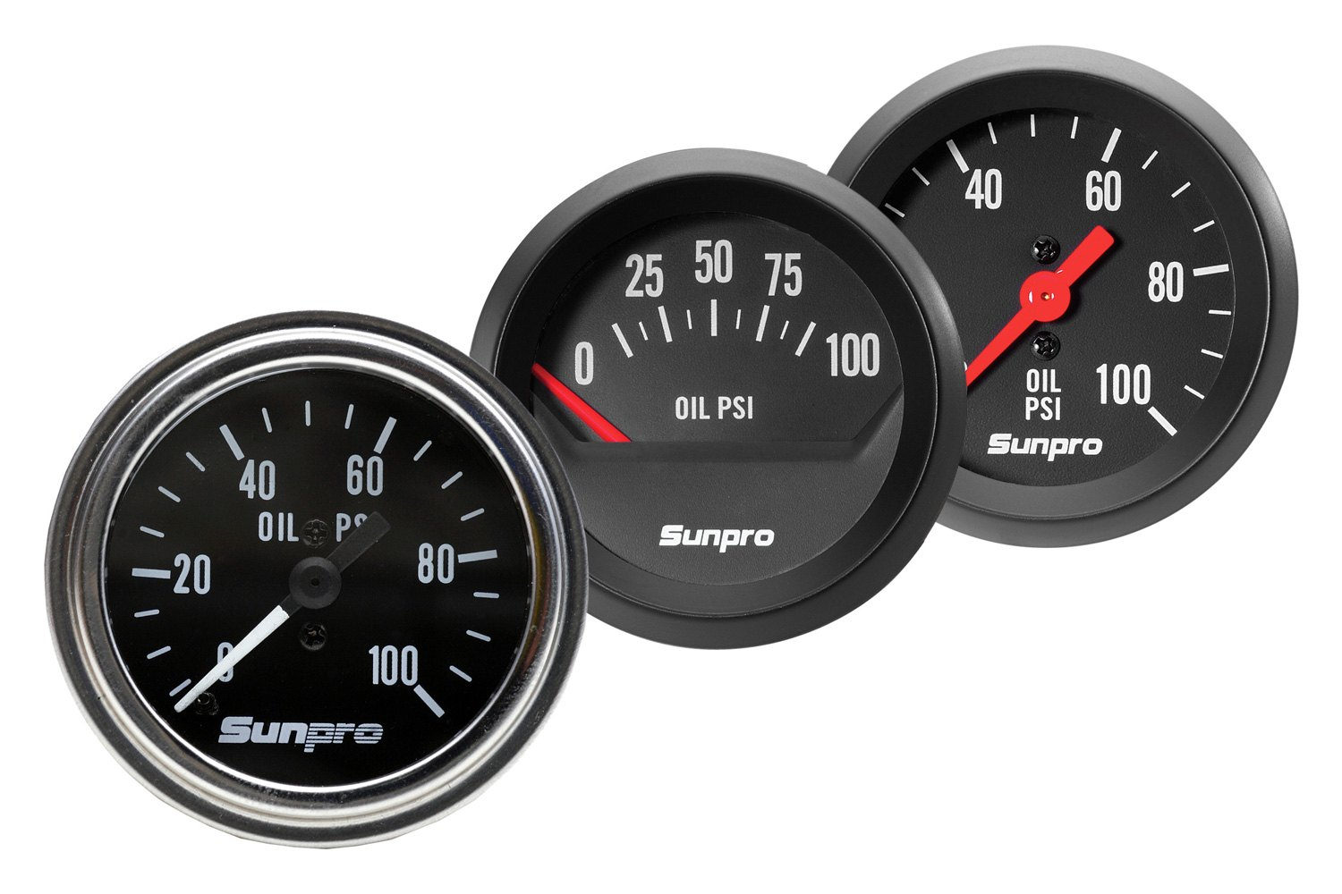 glowshift oil pressure gauge wiring diagram focus sunpro electric