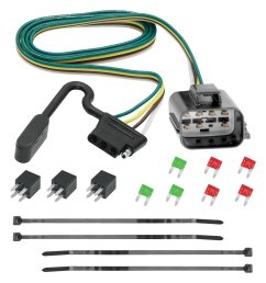 tekonsha u00ae chevy traverse base 2013 tow harness 7 pin trailer wiring harness gm trailer wiring harness [ 1000 x 1000 Pixel ]