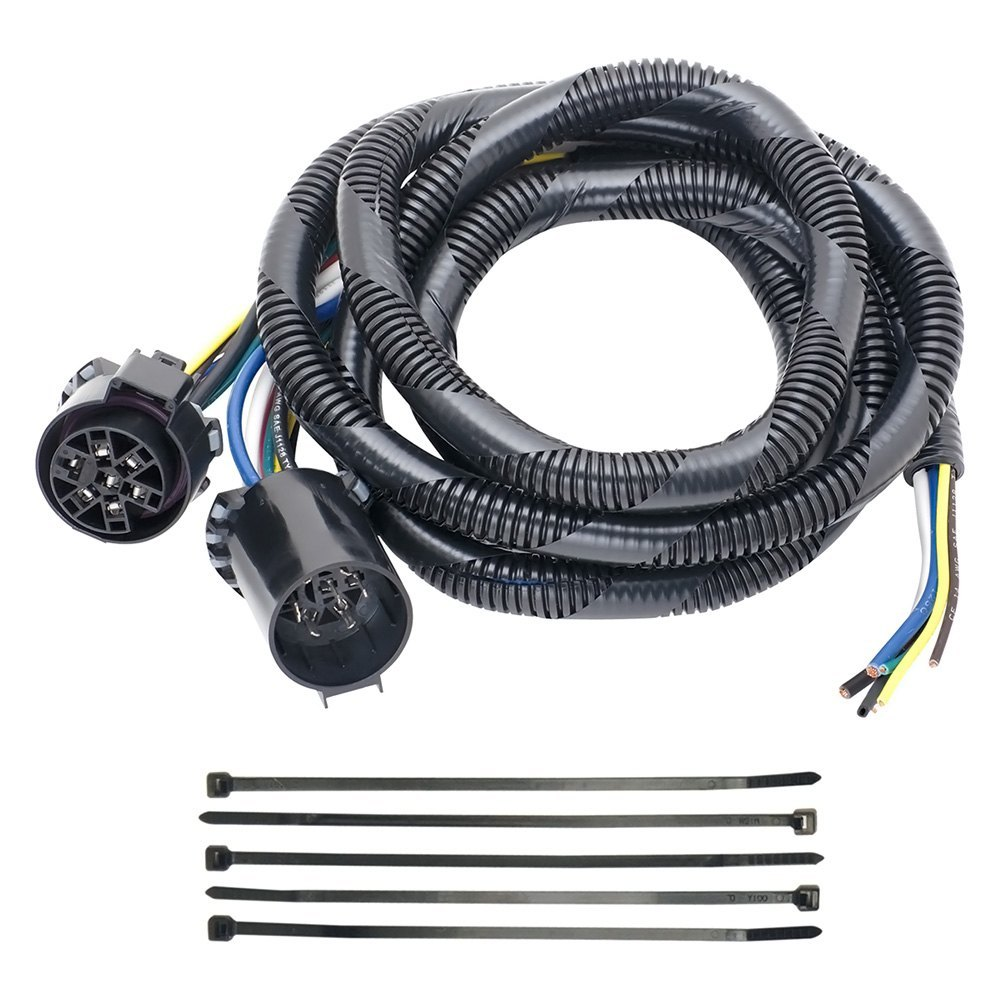 hight resolution of tow ready 7 5th wheel and gooseneck adapter harness with pigtails for choice