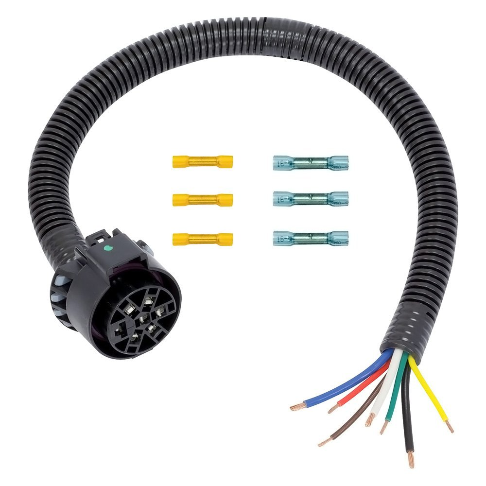 medium resolution of tow ready 7 way harness uscar socket