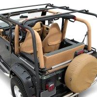 TrailFX - Jeep Wrangler 1997-2003 Black Roof Rack