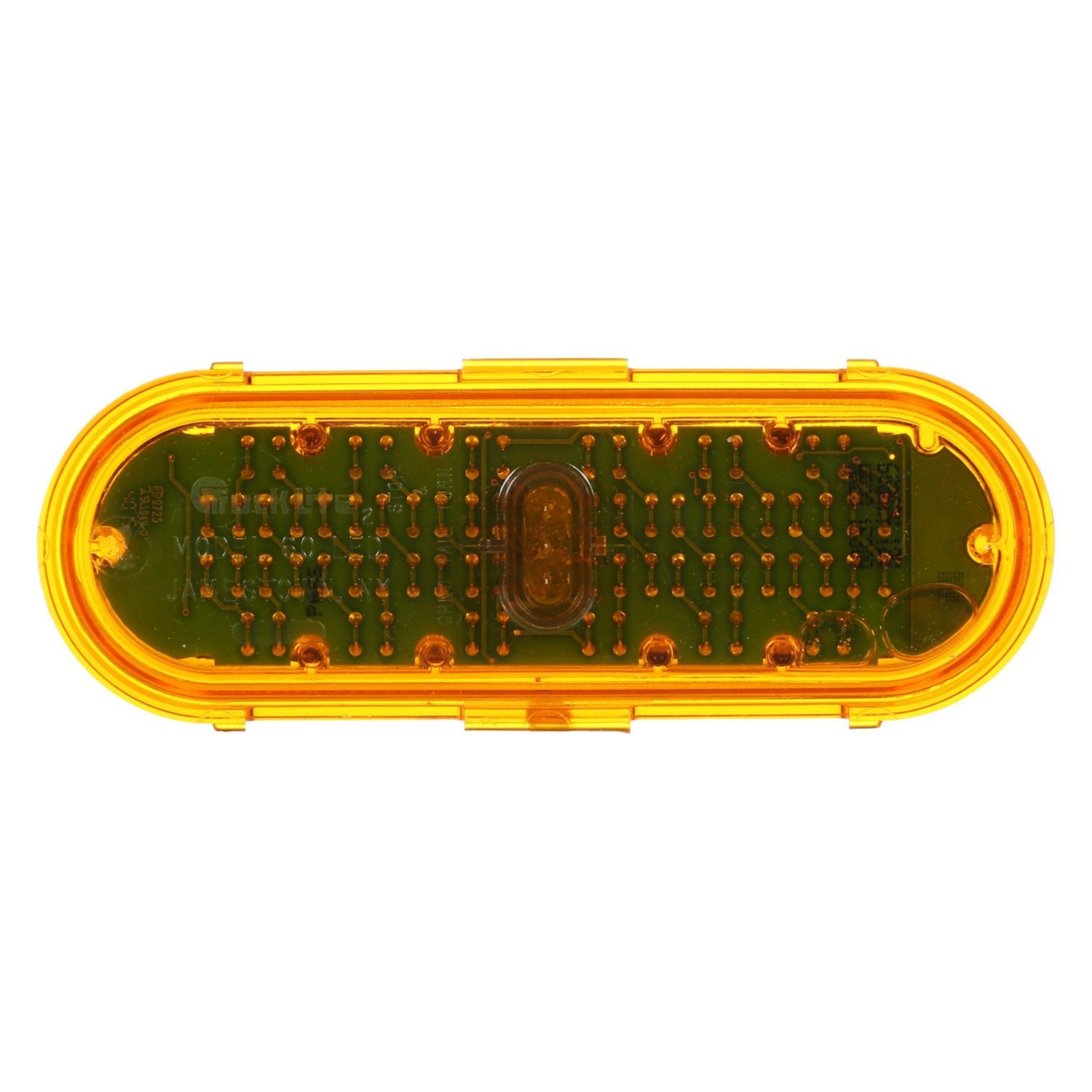 TruckLite 60362Y  Super 60 Bolton Mount Yellow LED Warning Light