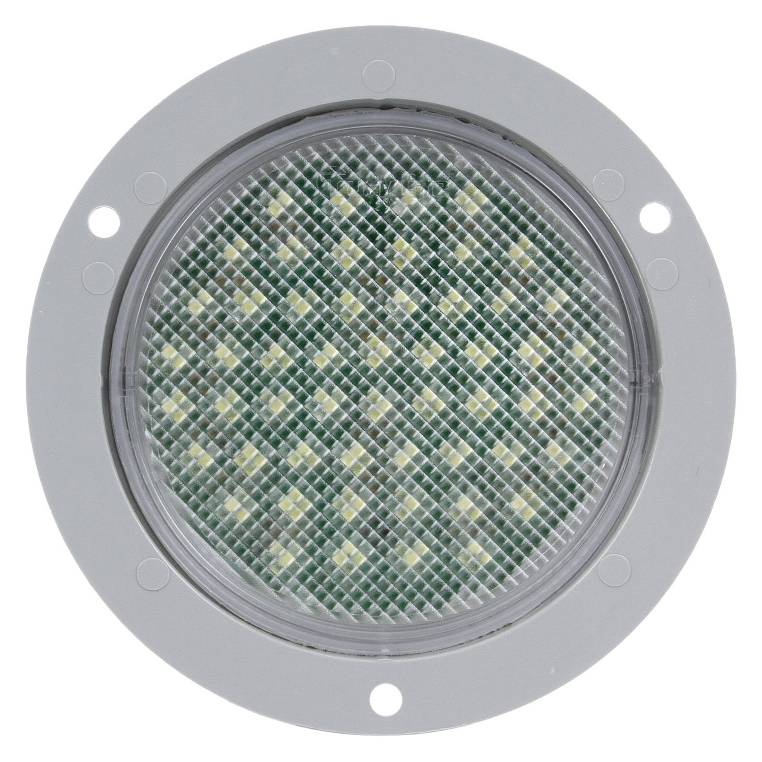 Truck Lite 44046C 44 Series Clear Round 54 LED Dome