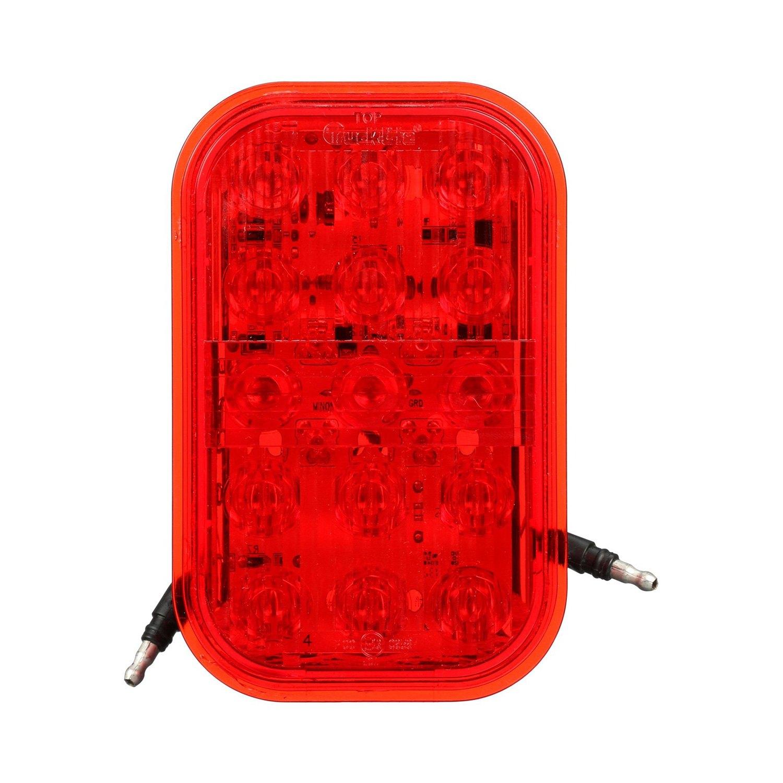 hight resolution of truck lite 45 series 135x86mm rectangular led rear fog light