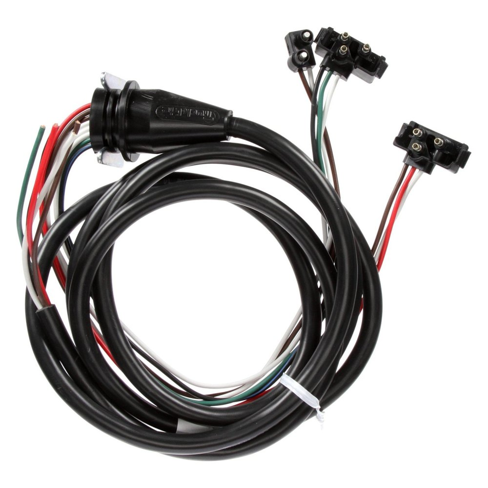 medium resolution of  and stop turn tail wiring harness with stop turn tail and marker clearance breakouttruck lite 50 series 96 driver side 3 plug marker clearance and