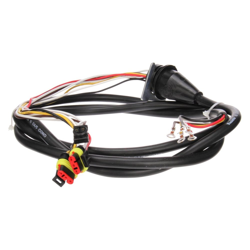 medium resolution of  50 series 96 passenger side 3 plug marker clearance and stop turn tail wiring harness with stop turn tail and marker clearance breakouttruck lite 50