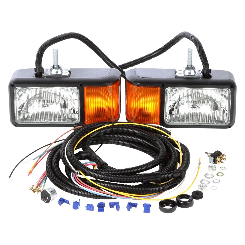 truck lite 80800 wiring diagram ford taurus radio halogen rectangular snow plow light