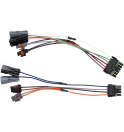truck lite snow plow atl 10 driver and passenger side 5 plug wiring harness  [ 1500 x 1500 Pixel ]