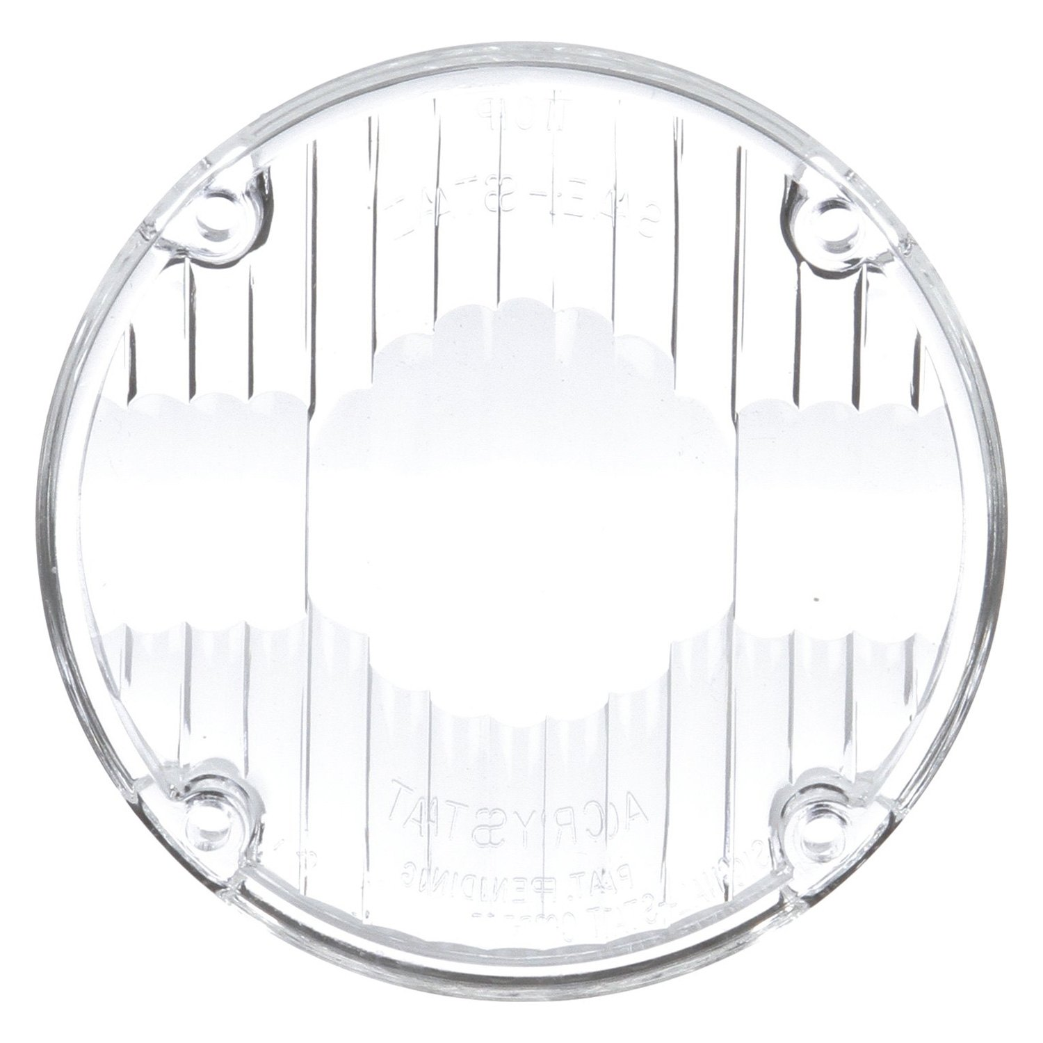 Truck-Lite 9015W Round Signal-Stat Replacement Lens for
