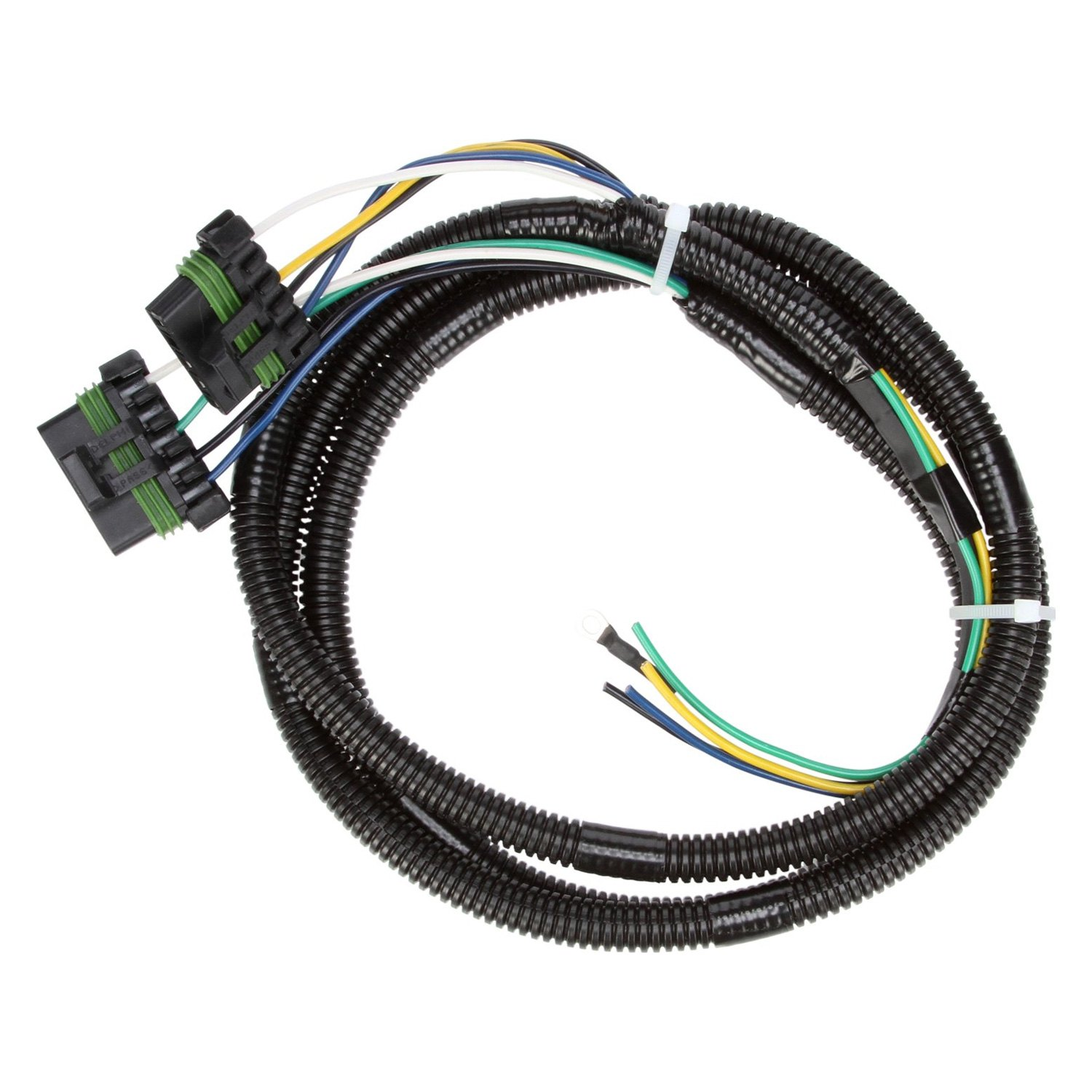 hight resolution of truck lite signal stat 68 2 plug crossover wiring harness for 5020