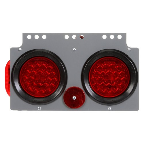 small resolution of truck lite signal stat round bracket mount led tail light
