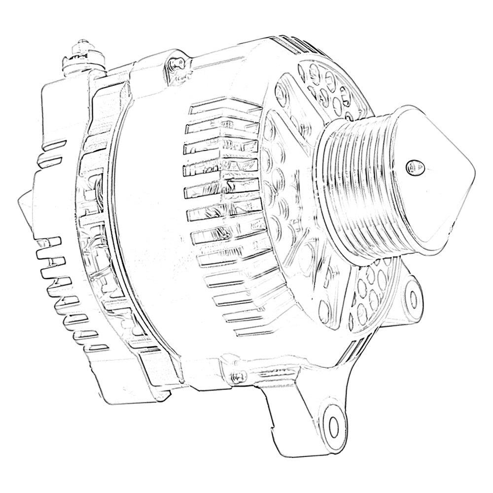 hight resolution of tuff stuff performance silver bullet alternator