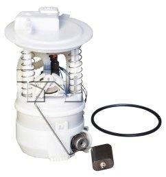 for nissan versa 2007 2012 tyc fuel pump module assembly [ 1500 x 1500 Pixel ]
