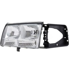 for cadillac deville 1997 1999 tyc 20 5174 00 driver side replacement headlight [ 1500 x 1500 Pixel ]