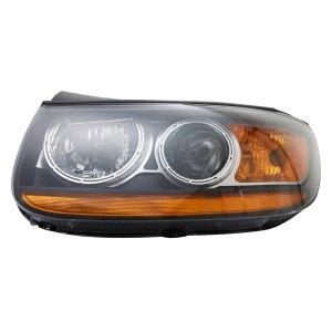 TYC®  Hyundai Santa Fe 20102011 Replacement Headlight