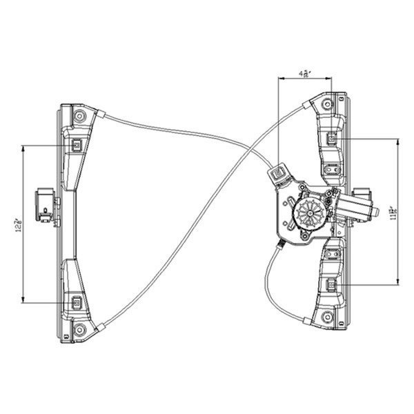 Service manual [Removal Of Passenger Window Switch 2007