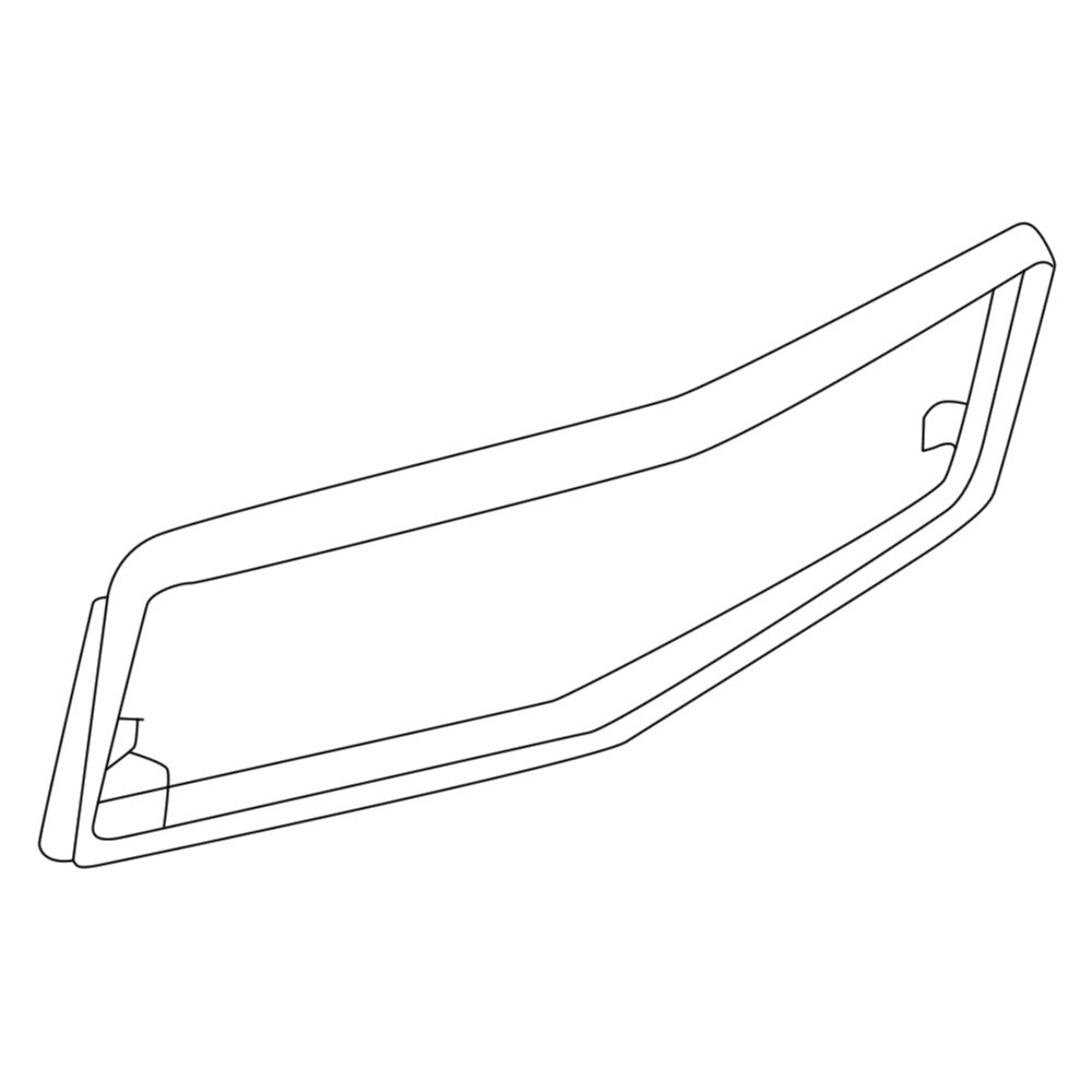 For Mercedes-Benz 560SL 1986-1989 URO Parts Outer Grille