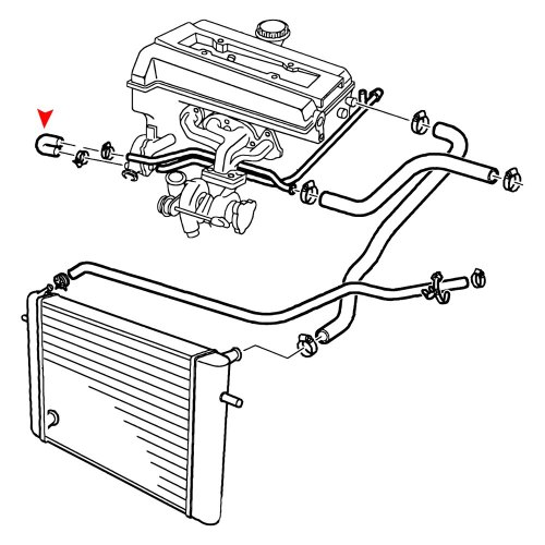 small resolution of saab engine coolant