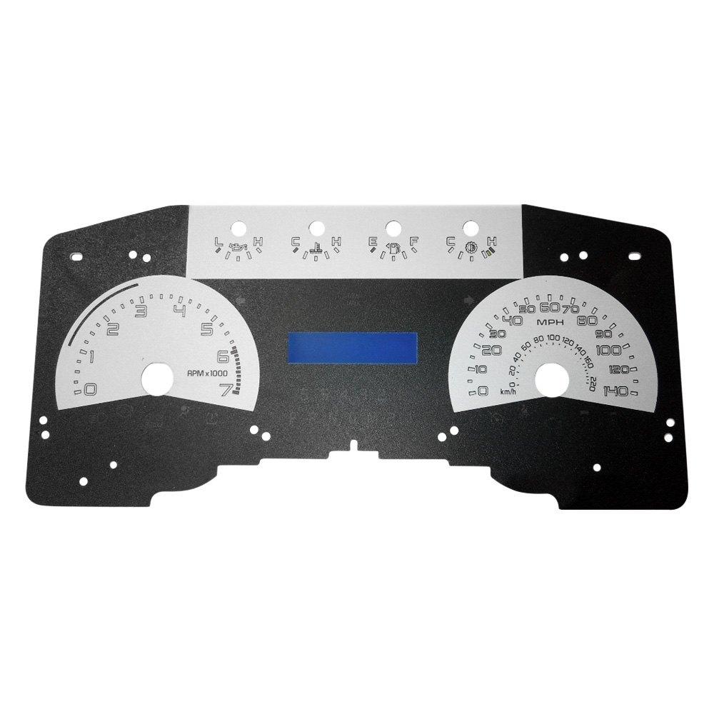medium resolution of  speedo daytona edition gauge face kit with green night lettering color