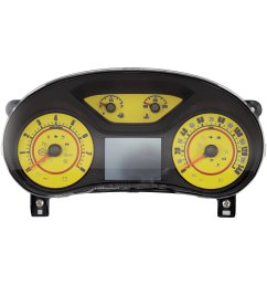 speedo daytona edition gauge face kit with white night lettering color red 140 mph 8000 rpmus speedo daytona edition colors [ 3000 x 3000 Pixel ]