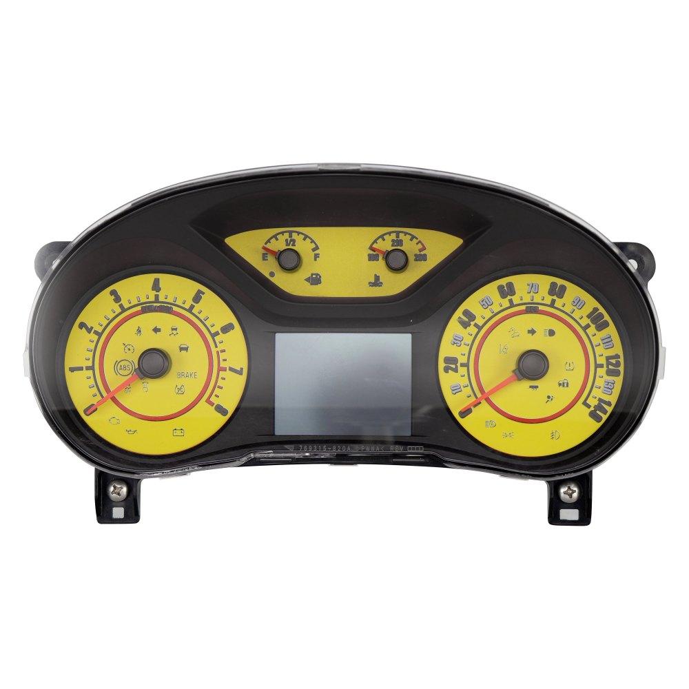 medium resolution of  speedo daytona edition gauge face kit with white night lettering color red 140 mph 8000 rpmus speedo daytona edition colors