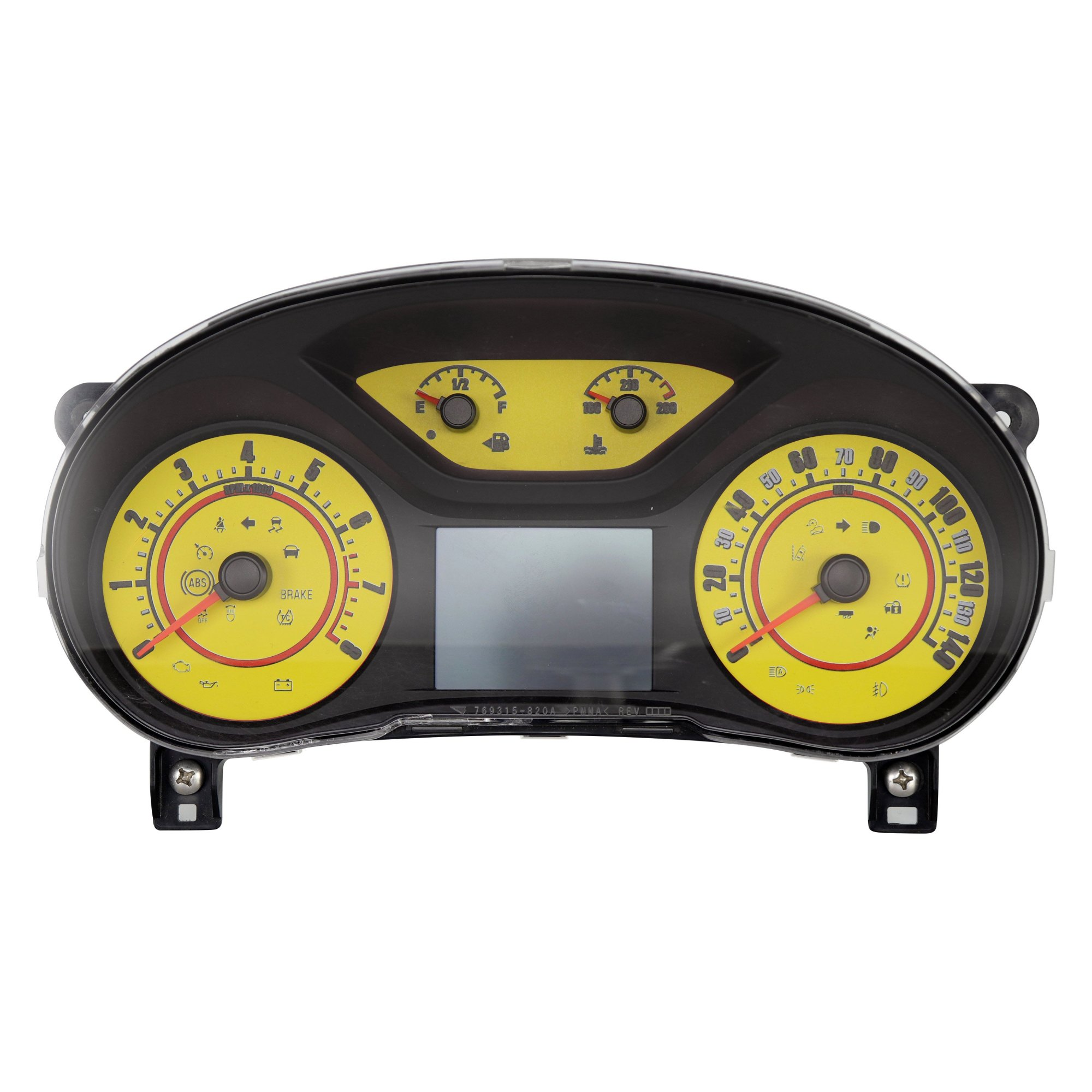 hight resolution of  speedo daytona edition gauge face kit with white night lettering color red 140 mph 8000 rpmus speedo daytona edition colors