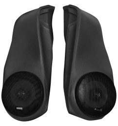 for jeep wrangler 1997 2006 vdp 53401 deluxe rear sound wedges w speakers [ 1000 x 1000 Pixel ]