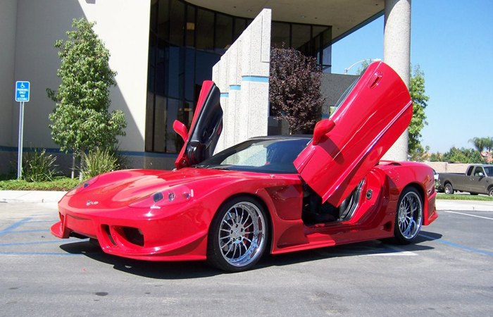 Vertical Doors  Lambo Door Conversion Kit