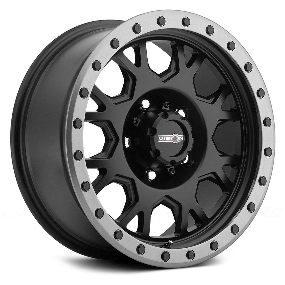 VISION OFFROAD GV8 INVADER Wheels  Matte Black with