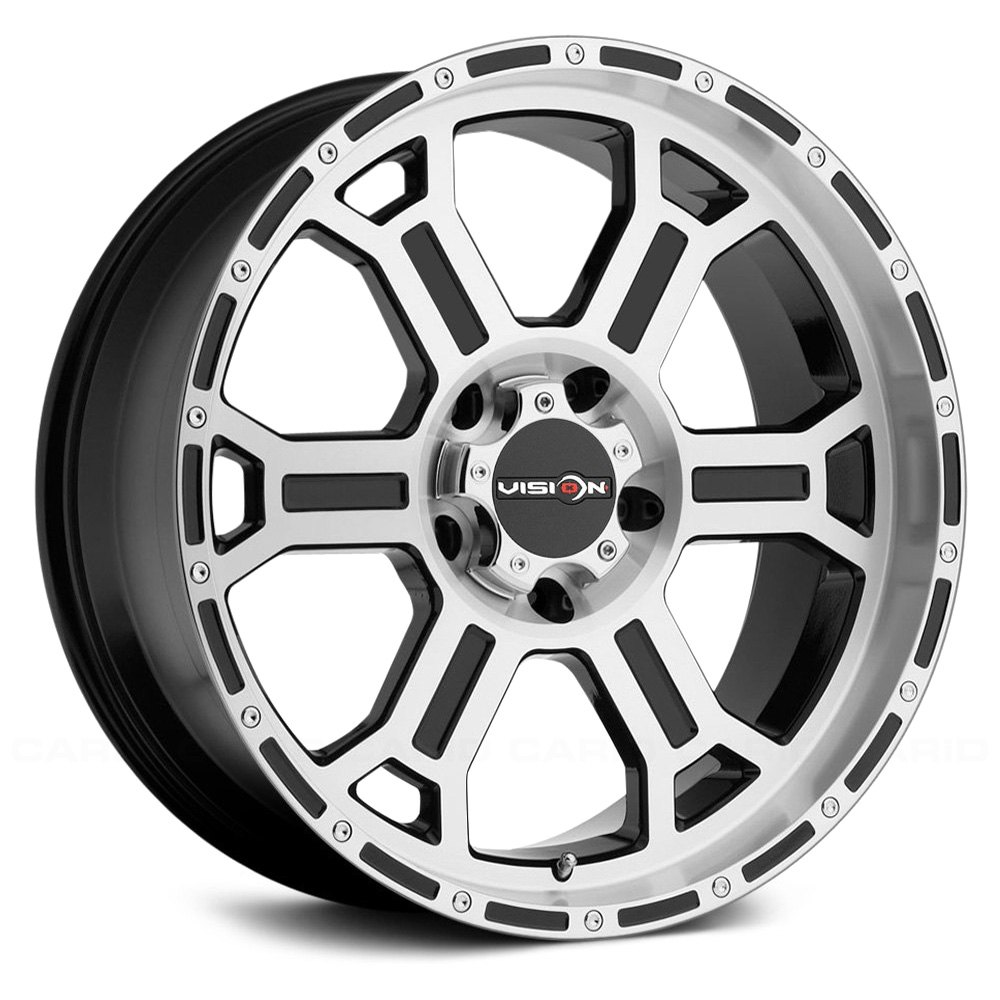 VISION OFFROAD 372 RAPTOR Wheels  Gloss Black with