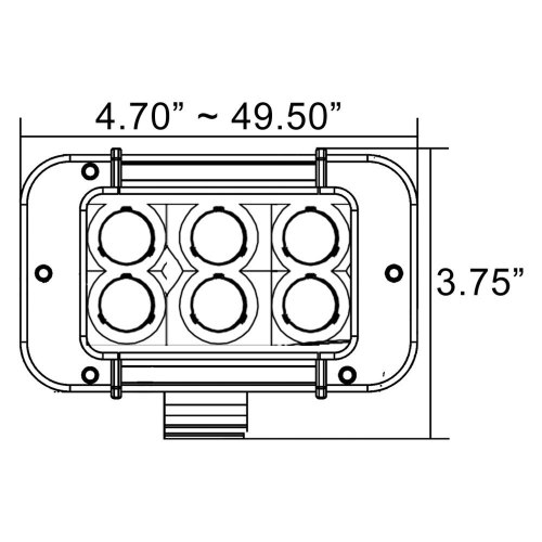 small resolution of vision x 9163215 xmitter prime xtreme 21 180w dual row white mictuning light bar wiring diagram vision x light bar wiring diagram