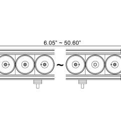 x xpi 35 90w mixed beam led light bar  [ 3000 x 2000 Pixel ]