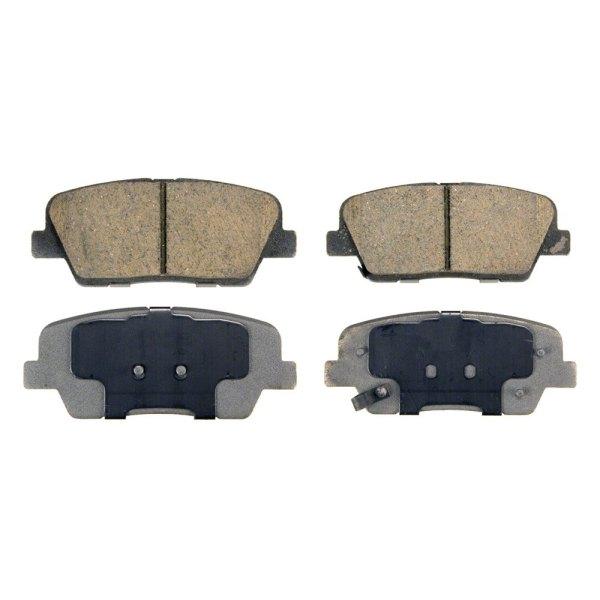 Wagner Qc1284 - Thermoquiet Ceramic Rear Disc Brake Pads