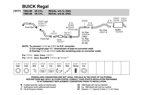 small resolution of 1989 buick century exhaust diagram car fuse box wiring diagram u2022 rh pokerchamps co 1992 buick