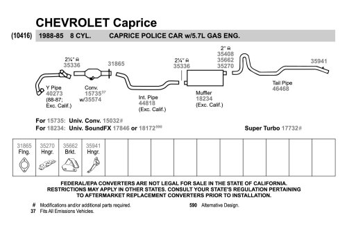 small resolution of  replacement exhaust kit