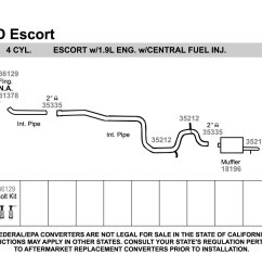 1990 ford tempo exhaust system diagram electrical wiring diagram ford escape exhaust diagram ford zx2 exhaust [ 1500 x 1000 Pixel ]