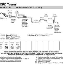 2006 ford taurus exhaust system diagram wiring diagram description 2006 ford taurus exhaust system diagram [ 1500 x 1000 Pixel ]