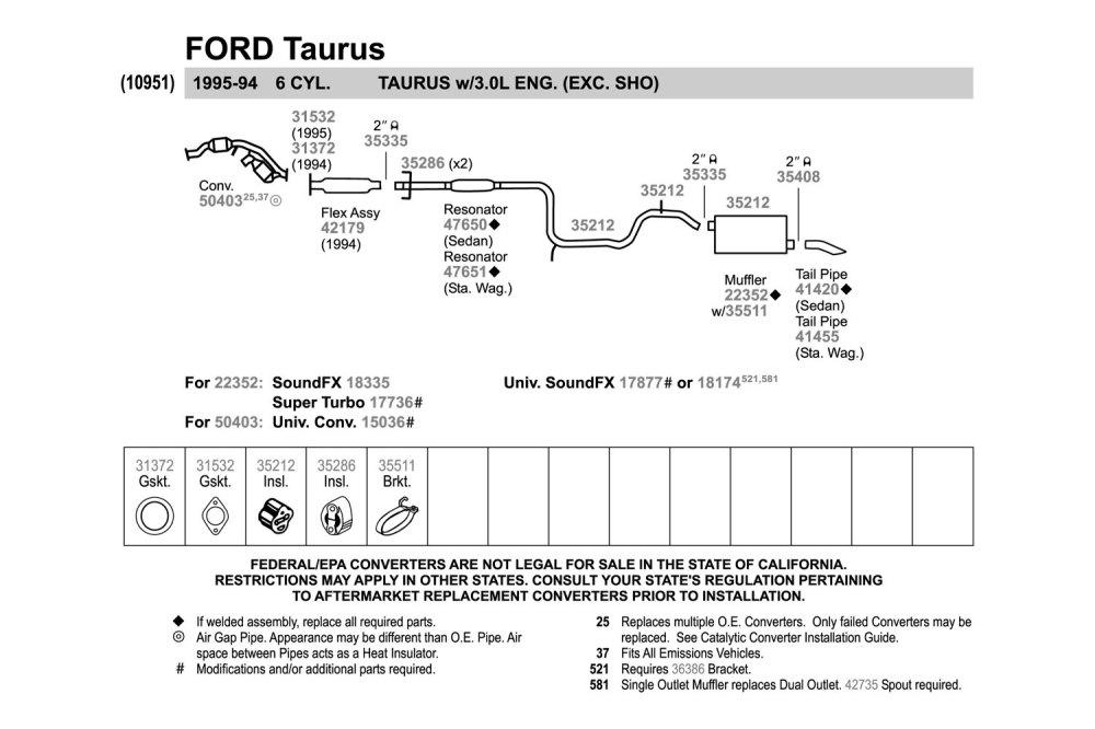 medium resolution of 2006 ford taurus exhaust system diagram wiring diagram description 2006 ford taurus exhaust system diagram