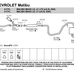 2001 Chevy Impala Exhaust System Diagram 1994 Dodge Dakota Wiring 2004