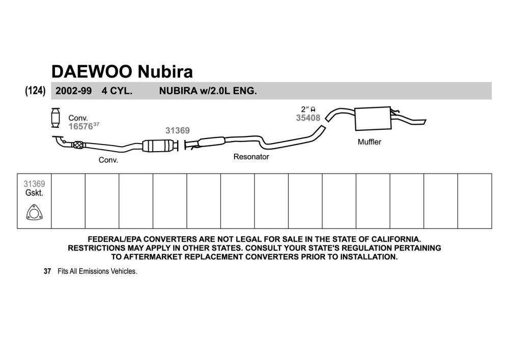 medium resolution of 2002 daewoo leganza exhaust diagram smart wiring diagrams u2022 2000 chevy cavalier exhaust diagram 2000