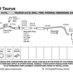 2005 ford taurus engine diagram [ 1500 x 1000 Pixel ]