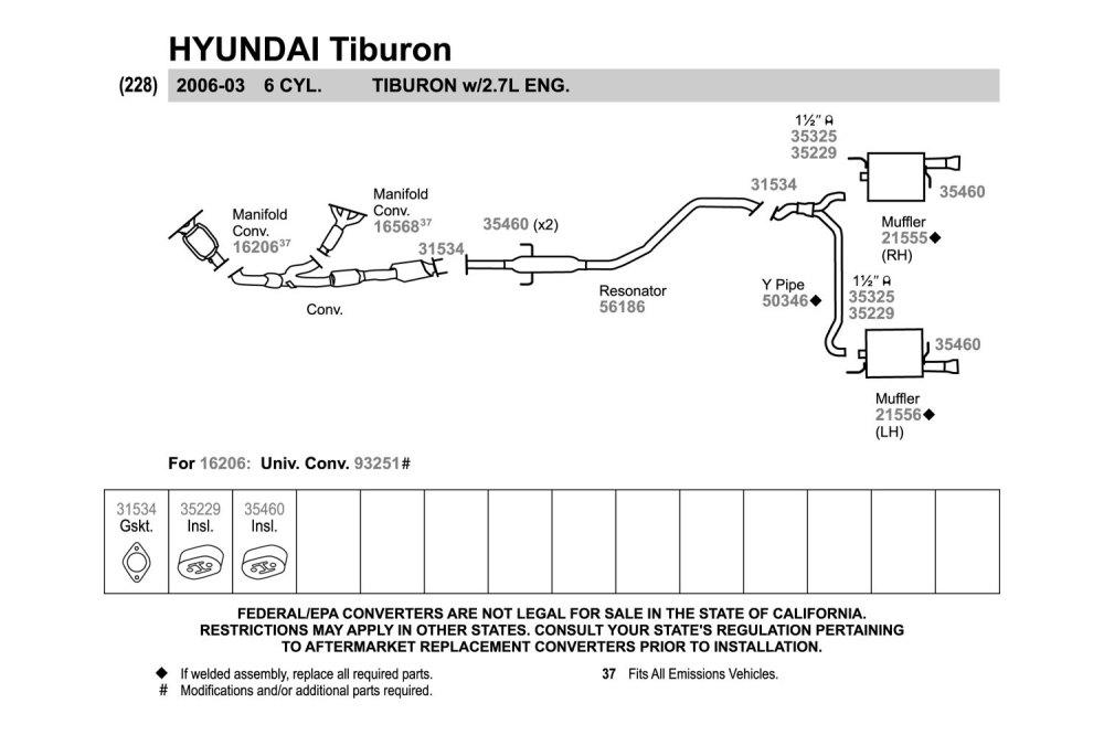 medium resolution of walker exhaust y pipewalker replacement exhaust kit