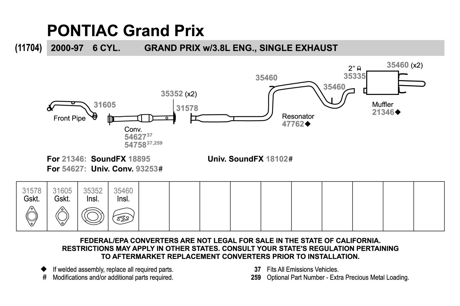 grand prix parts diagram 2007 ford escape fuse panel 2004 pontiac exhaust auto