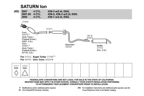 small resolution of saturn ion exhaust diagram wiring diagram operationssaturn ion exhaust diagram